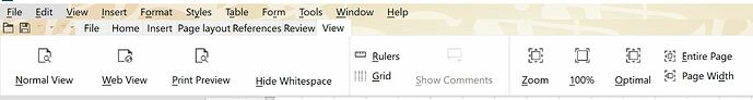 Notebookbar Windows 10