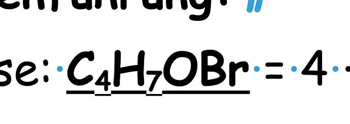 choppy underline