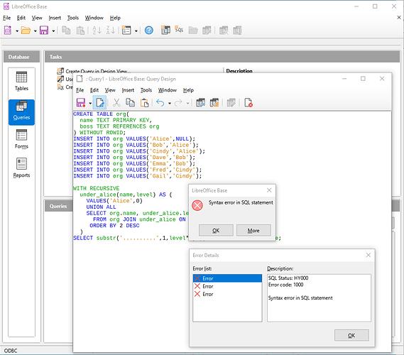 Base-Recursive-sql-query-details