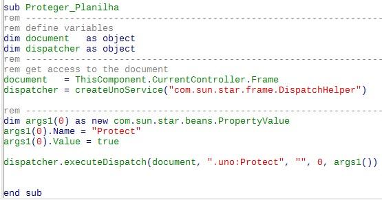 Código que não omite a confirmação de senha.
